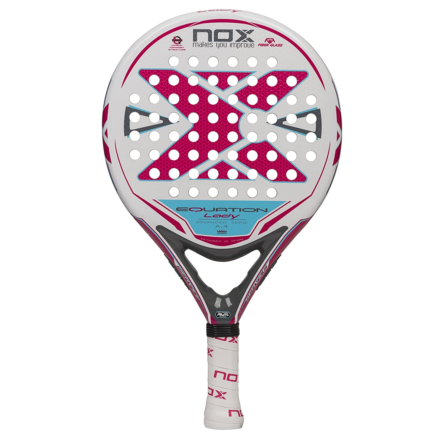 Pala NOX Equation Lady A.4: Amazon.es: Deportes y aire libre