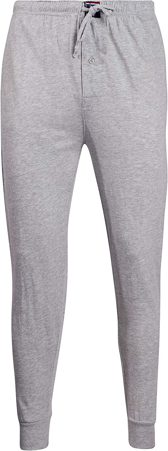 U.S. Polo Assn. Mens' Basic Knit Jogger Lounge Pajama Pants