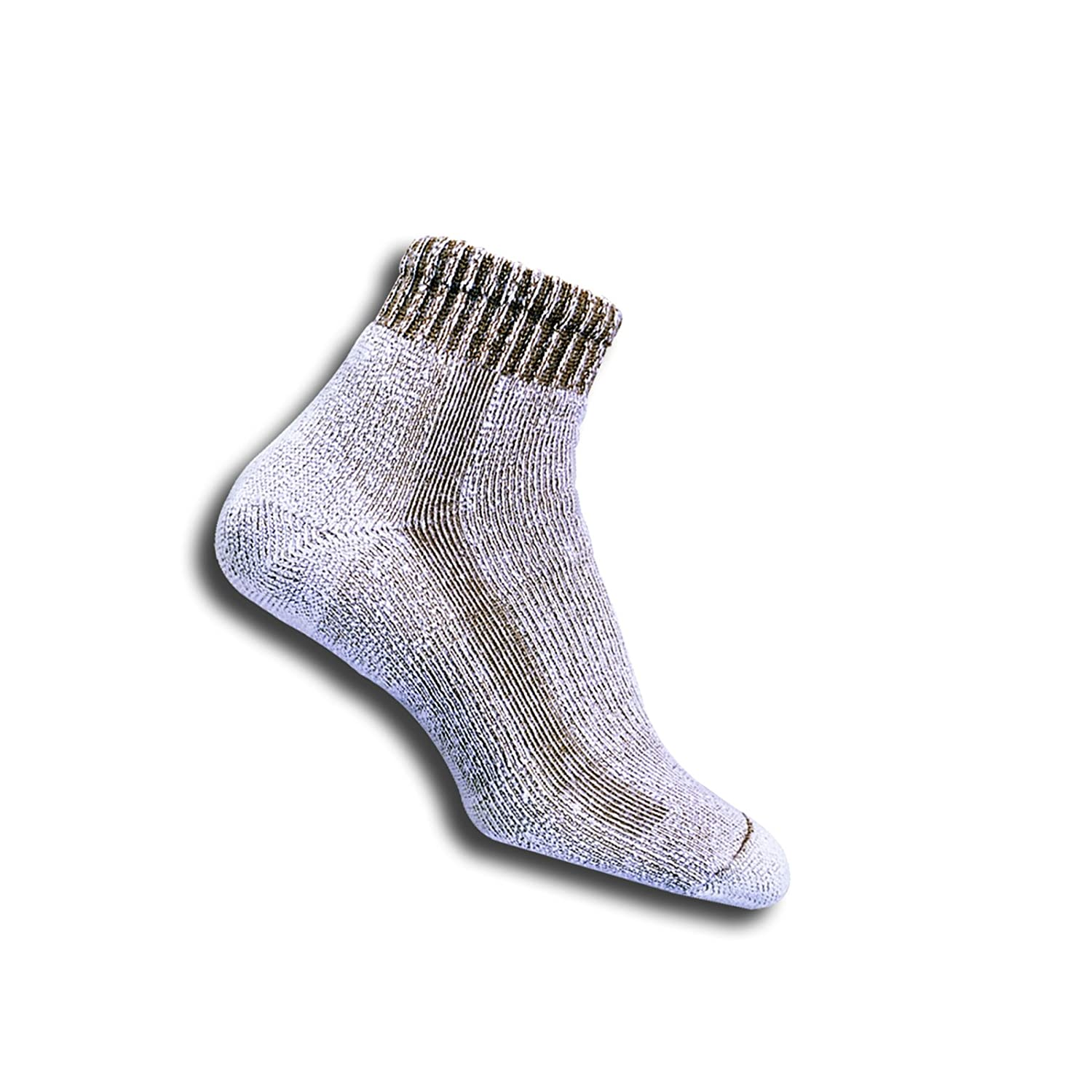 Thorlos MenS Moderate Cushion Lt Hiker Mini Crew with a Helicase Sock Ring