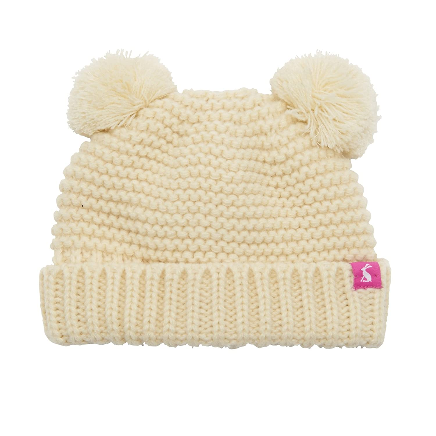 Joules Baby Pom Pom Hat in Cream-Small  Amazon.co.uk  Baby 034d6669203