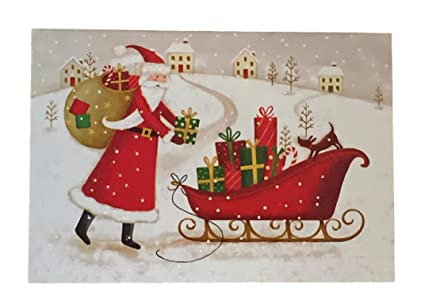 Boxed Christmas Cards.Holiday Boxed Christmas Cards Set Of 28 Variety To Choose From Santa Claus Sleigh