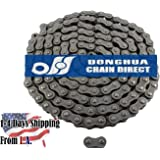 Donghua Heavy Duty Roller Chain, Ansi #60H, 10 Feet with Connecting Link