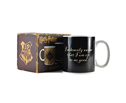 7b44f5211d0 Image Unavailable. Image not available for. Colour: Harry Potter Marauder's  Map Heat Changing Mug