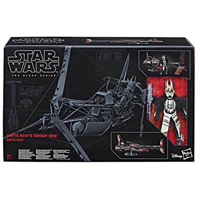Star Wars The Black Series Enfys Nest and Enfys Nest's Swoop Bike: Toys & Games