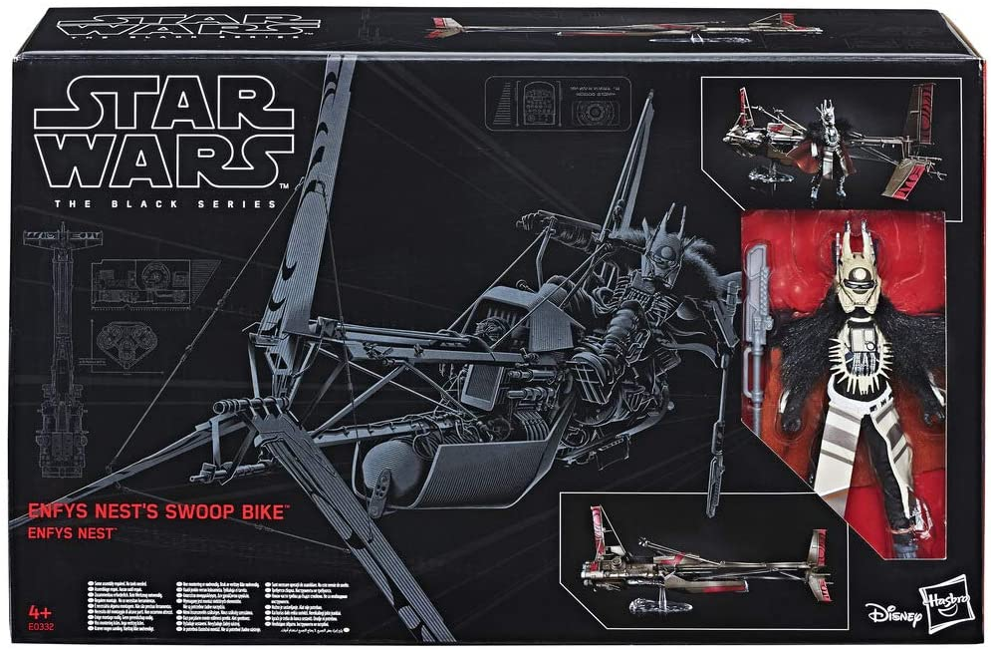 Star Wars Black Series Enfys Nest/'s Swoop Bike #5