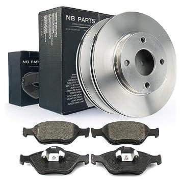 Bremsenset Vorne Bremsbelagsatz Bremsscheibe Mazda ATE