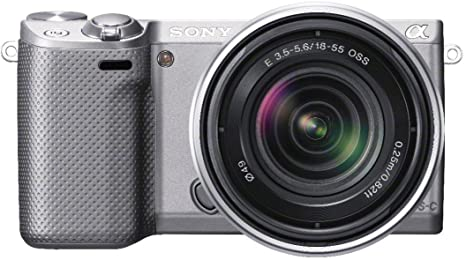 Sony NEX-5R - Cámara EVIL de 16.1 Mp (pantalla táctil articulada ...