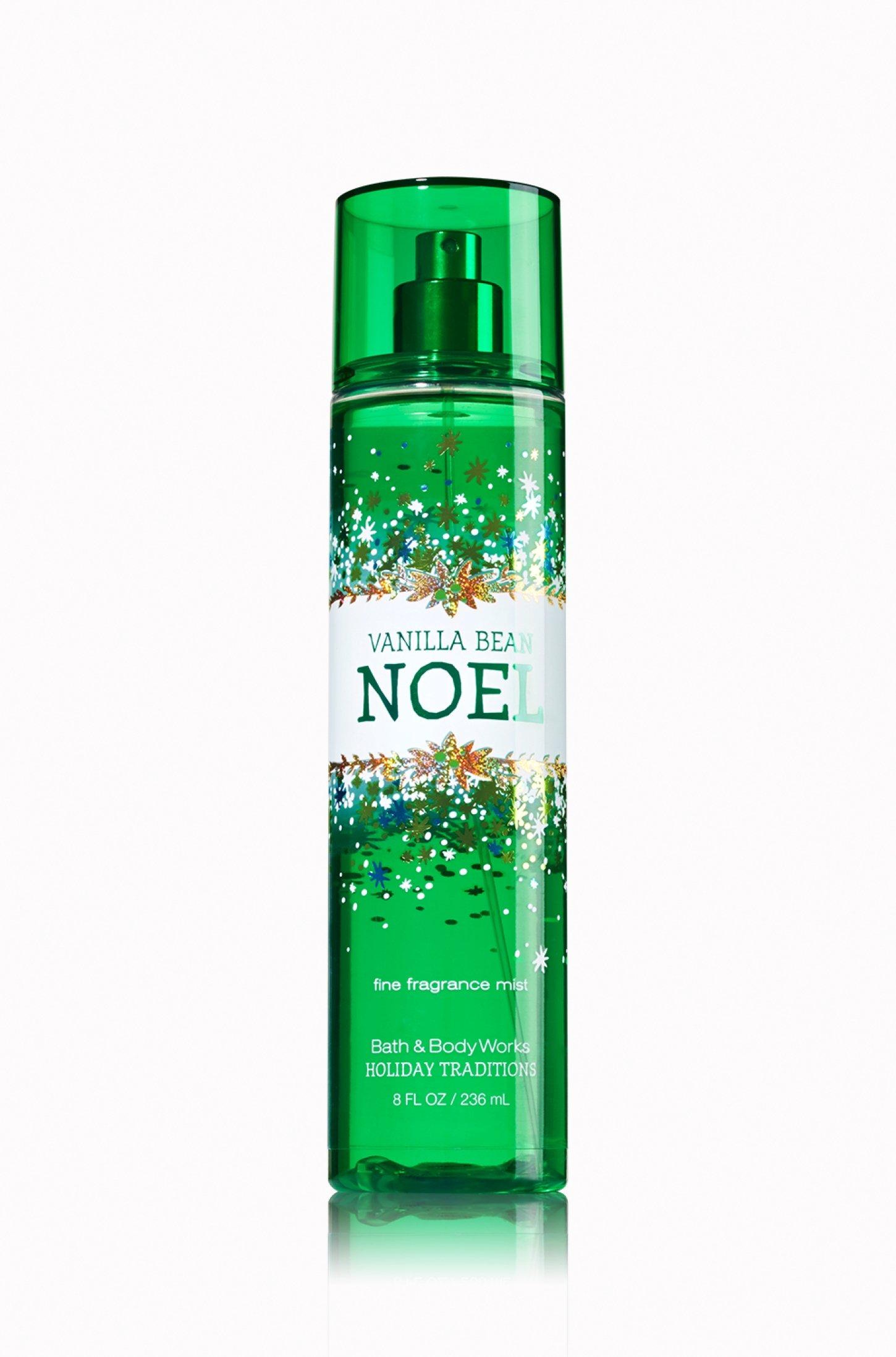 Amazon Com Bath And Body Works Holiday Traditions Vanilla Bean Noel Fine Fragrance Mist 8 0 Fl Oz Beauty