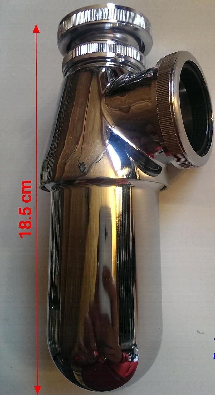1 1//2 Chrome Bottle Trap PBT42CP