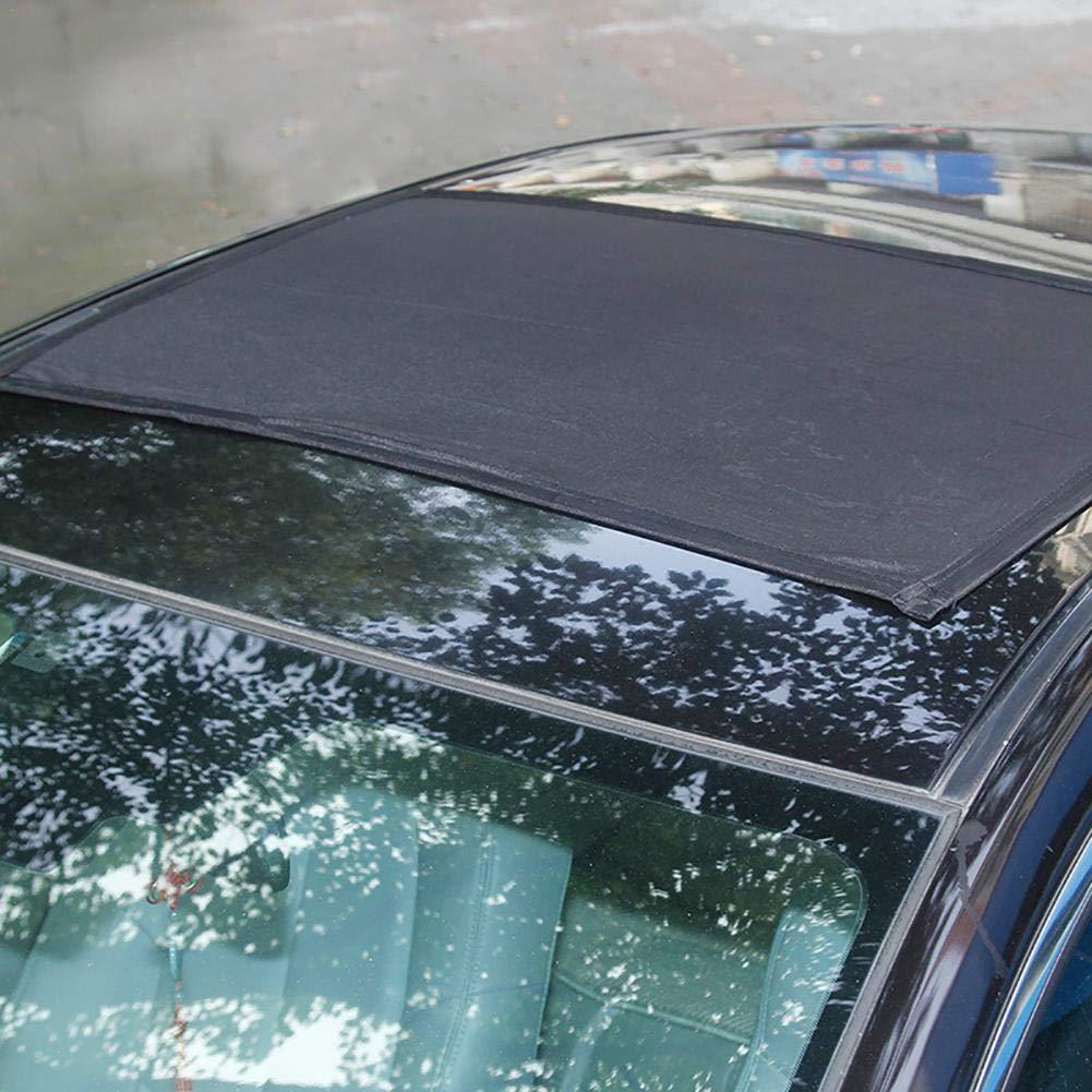 IrahdBowen Auto Sonnenblende Anti-UV tragbaremagnetische Vorhang-Gaze Fahrzeug Schiebedach Moskitonetz Bildschirme Autofenster Sonnenschutz Autosonnenblende