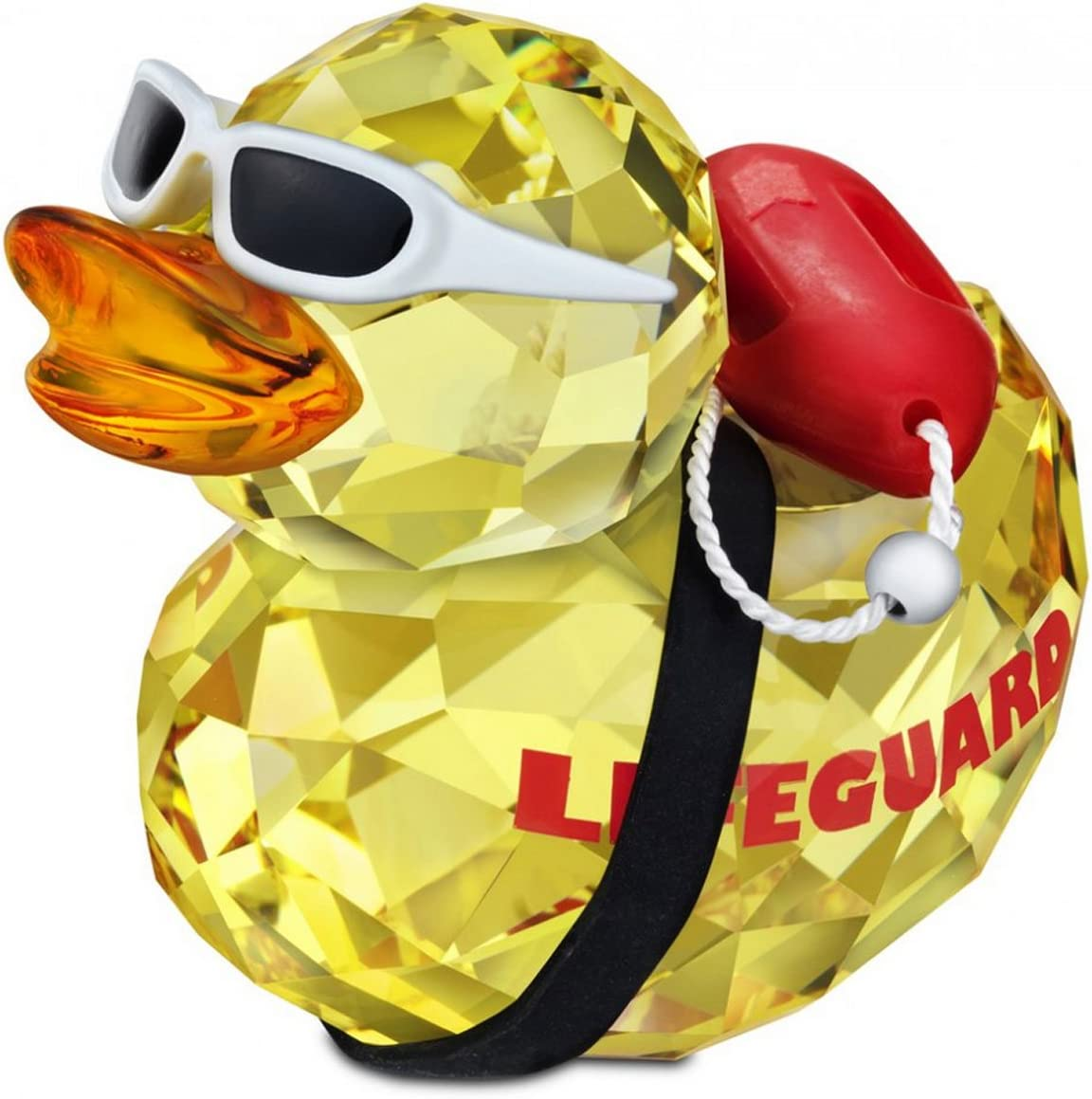 SWAROVSKI 1143443 Happy Duck Lifeguard Figurine