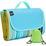 REDCAMP XL Picnic Blanket Waterproof Sandproof, Durable Oxford Folding Extra Large Picnic Mat for Outdoor Travel Beach…