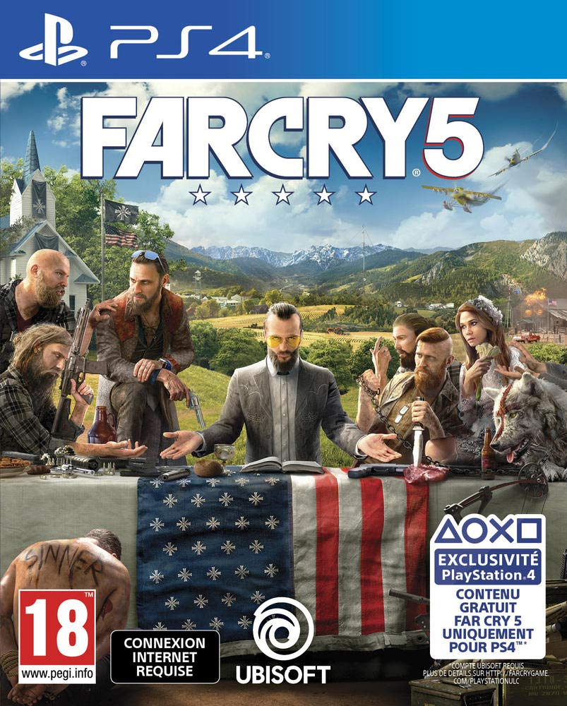 Buy Far Cry 5 Ps4 Online At Low Prices In India Ubi Soft Video Games Amazon In