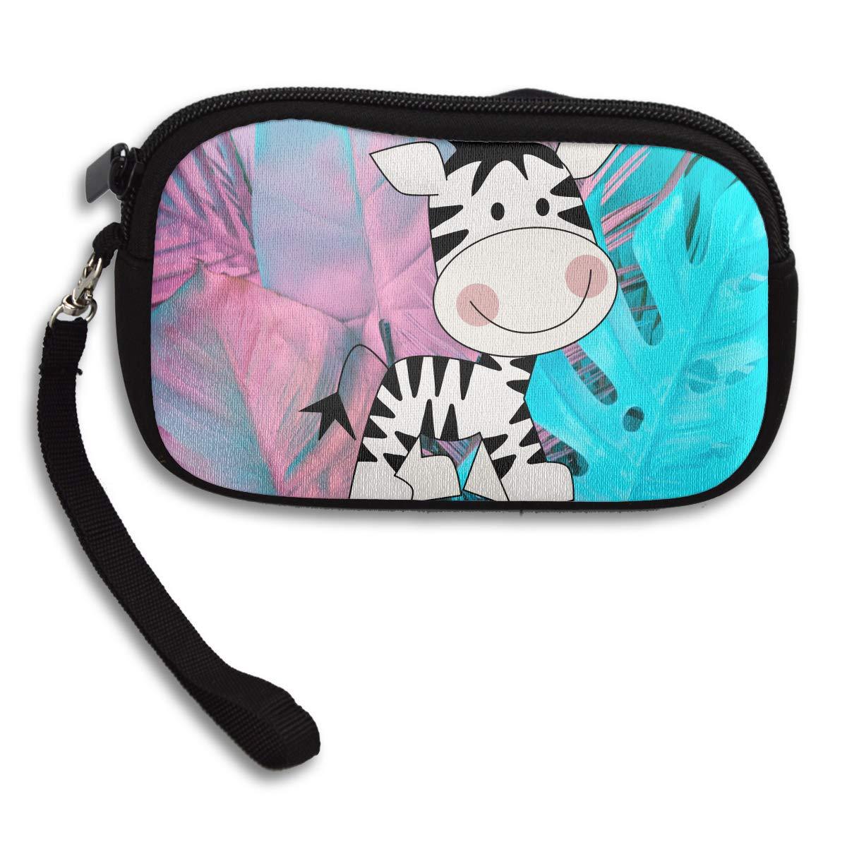 Zebra Baby Deluxe Printing Small Purse Portable Receiving Bag
