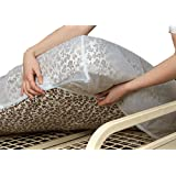 NRS Healthcare F24906 Incontinence Care Waterproof Bedding Protector Fitted Mattress Cover For Single Beds (Eligible for VAT relief in the UK)