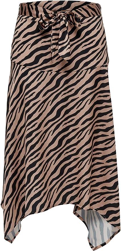 Only Falda Zebra: Amazon.es: Ropa y accesorios