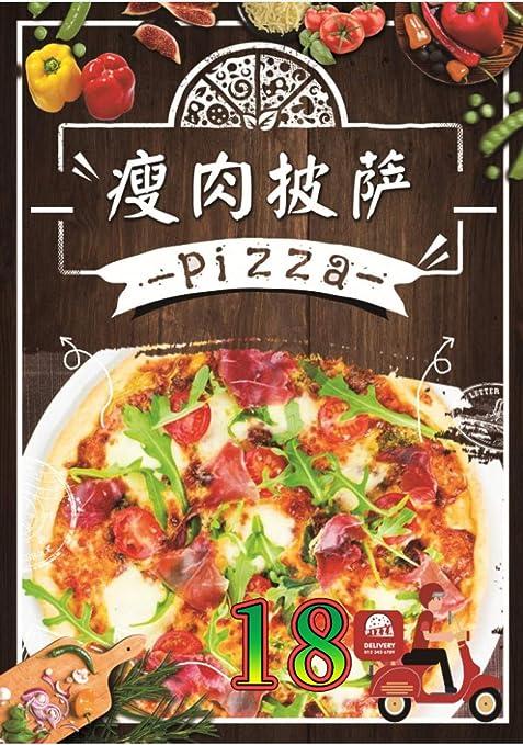 zhoudashu Pizza publicitaria Cartel publicitario Cartel ...