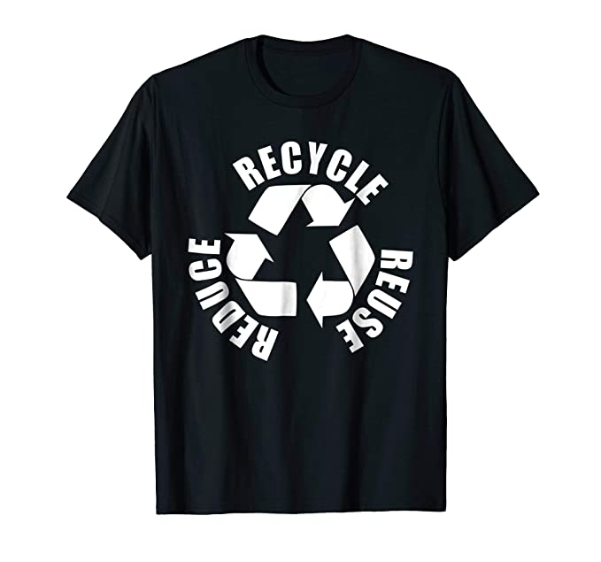 Amazon Recycle Symbol Reduce Reuse Recycle Eco Environment T