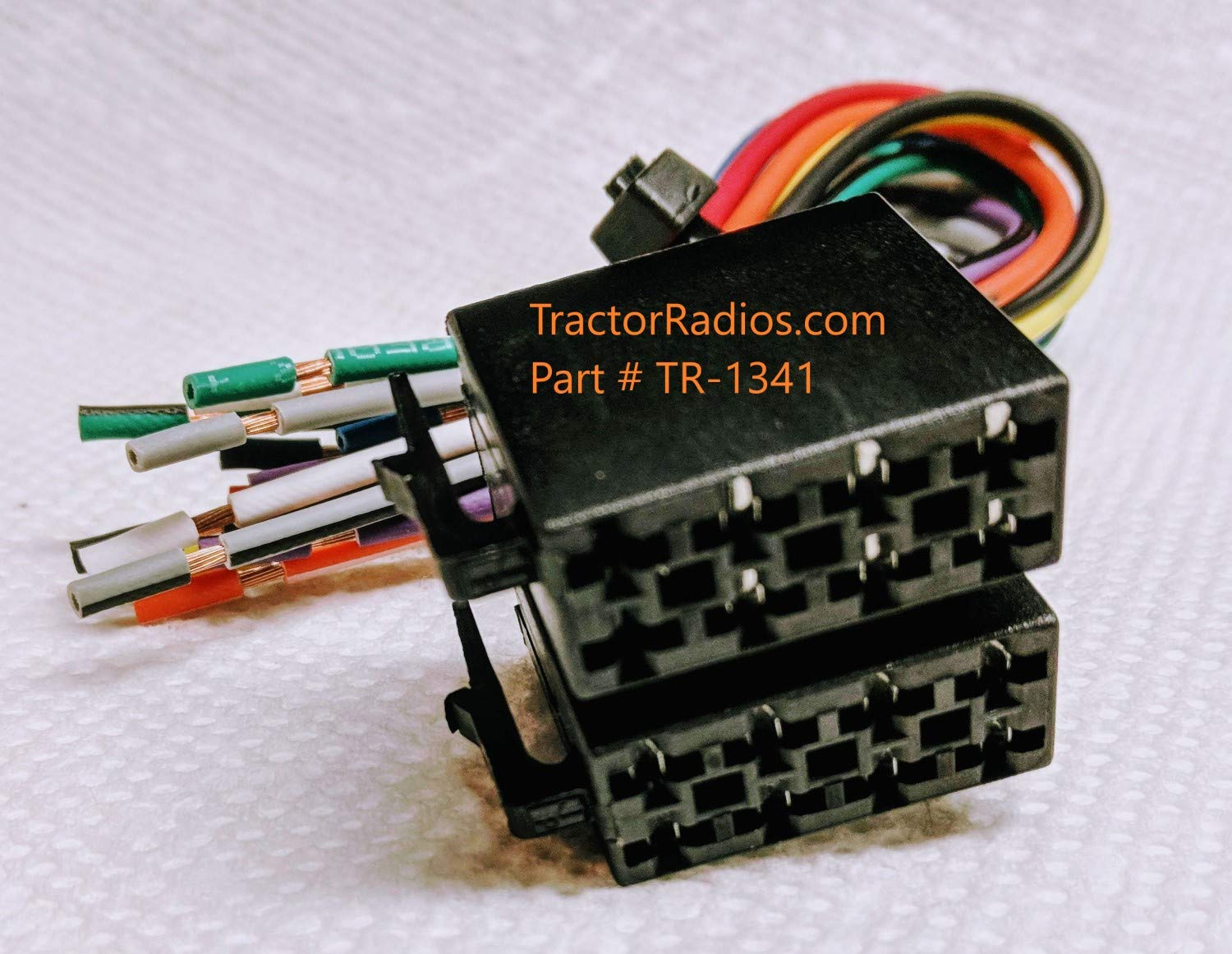 amazon.com: semi truck stereo male iso wiring harness radio cd player in  dash freightliner plug play international peterbilt volvo freightliner  sterling mack kenworth: industrial & scientific  amazon.com