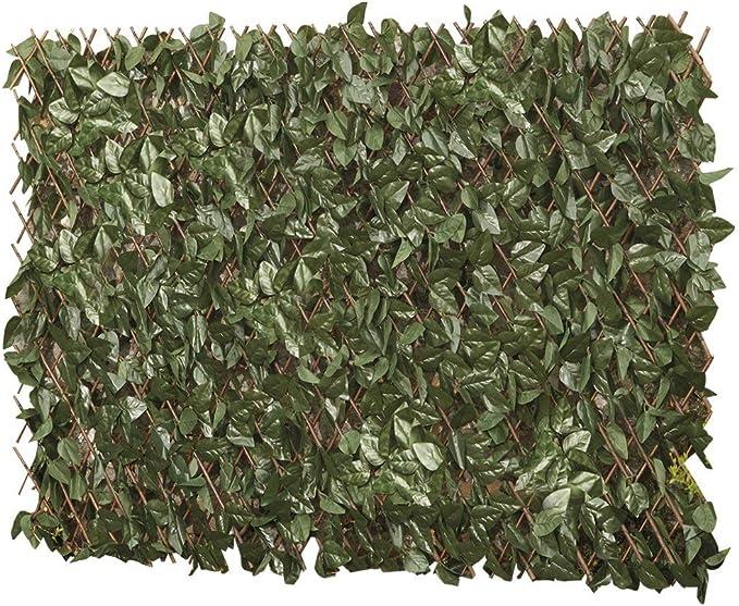 Celosía con hojas artificiales, panel de privacidad instantáneo ...