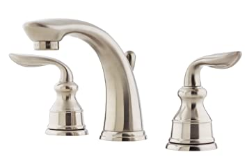 Pfister Avalon 2 Handle 8 Widespread Bathroom Faucet Brushed
