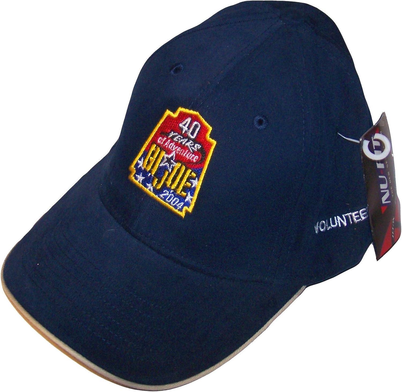 GI Joe Convention Joe Con 2004 Exclusive40 Years of Adventure Volunteers Hat