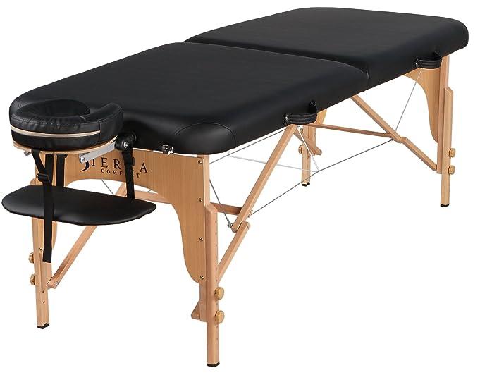 amazoncom sierra comfort series portable massage table sports u0026 outdoors