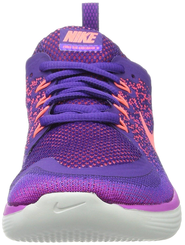 low priced f8162 ff07d Nike Women s Nike Free Rn Distance 2 Running, Women s Multisport Indoor  Shoes, Purple (Hyper Grape Court Purple Lava Glow), 4.5 UK  Amazon.co.uk   Shoes   ...