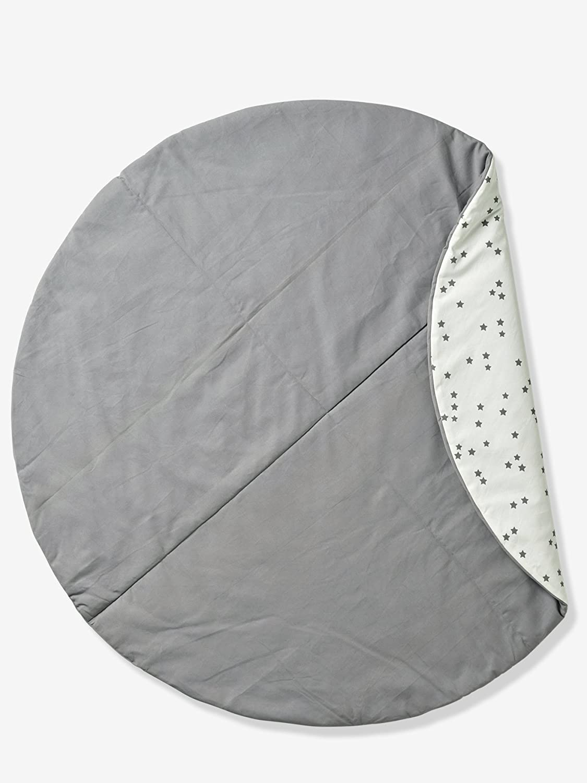Grünbaudet Rundteppich fürs Tipi, Baumwolle, Weiß Weiß Weiß Moutarde Imprimé, Einheitsgröße B07B8V1PQ2 Zierkissen b866d1