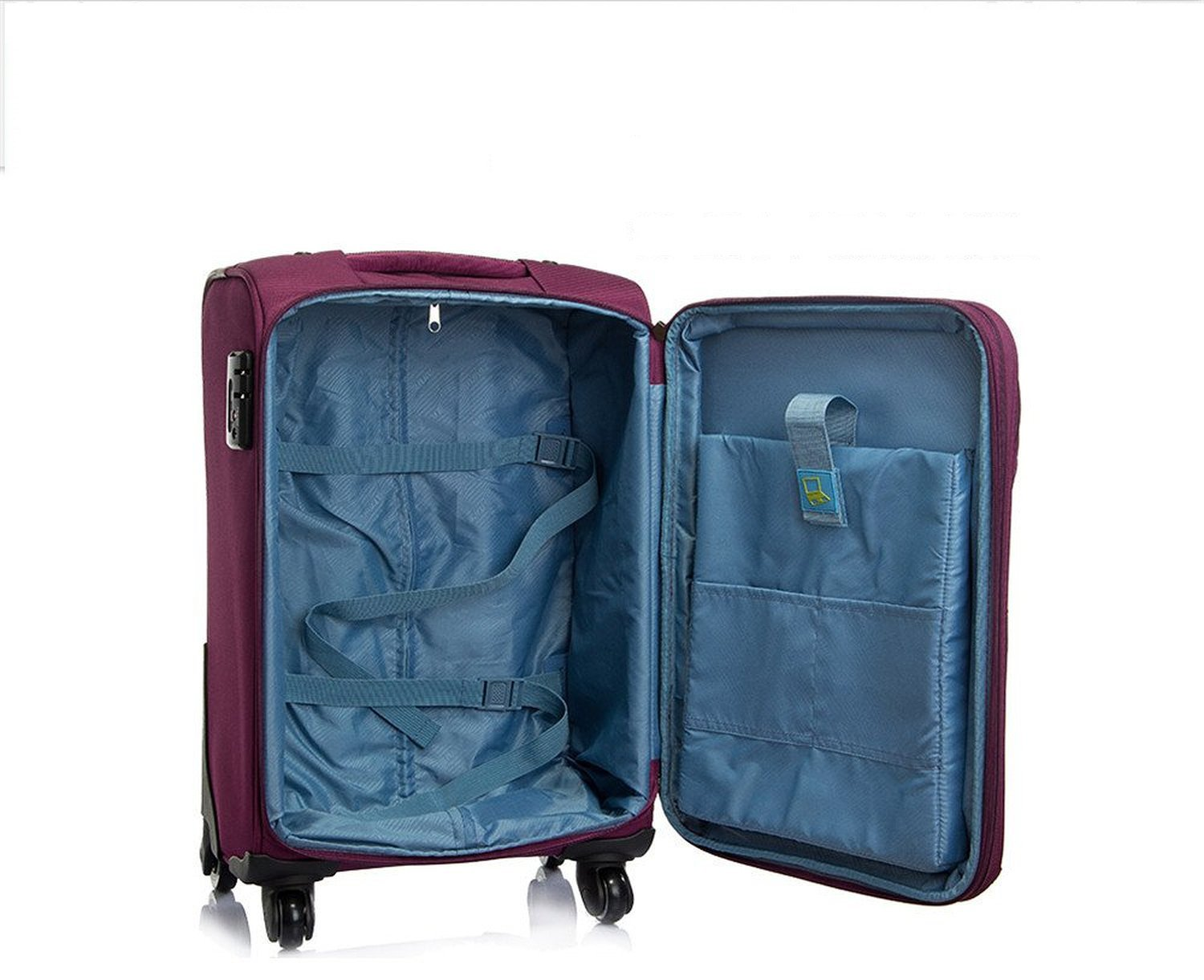 YD Luggage Set Trolley Case-Waterproof Luggage Box Universal Wheel Suitcase Student Password Box Cloth Box Large Capacity Trolley Case 4 Colors 5 Sizes Optional ///&