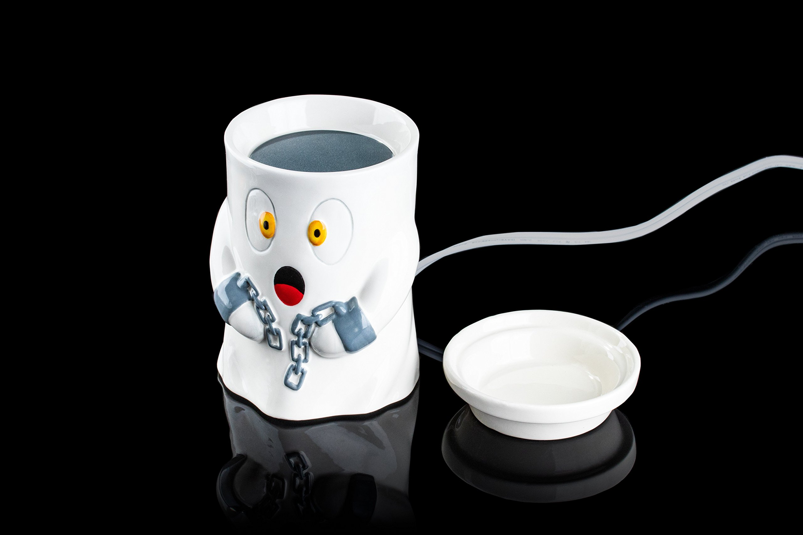 The Ghost Spooky / Adorable Wax Warmer by HalloweenForevermore.com