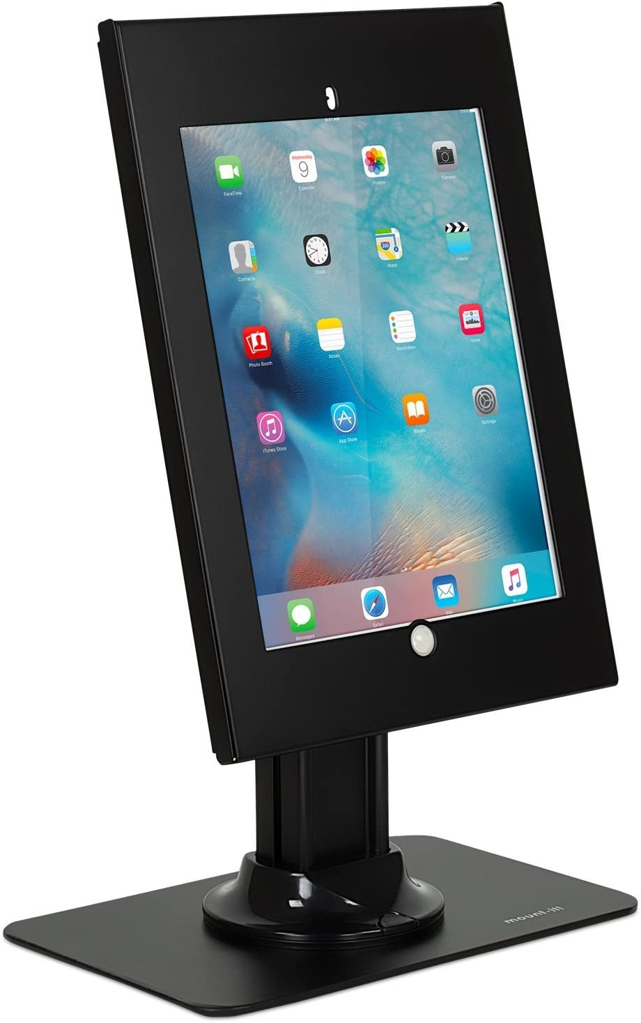 Mount-It! Anti-Theft Tablet Kiosk for iPad Pro | Locking Tablet Stand for iPad Pro 12.9 | Adjustable Tablet Mount Stand for iPad Pro 12.9 | MI-3771B-XL
