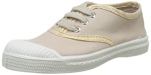 Bensimon Tennis Lacet SHINYPIPING, Zapatillas para Niñas, Beige (Coquille 105), 25 EU: Amazon.es: Zapatos y complementos