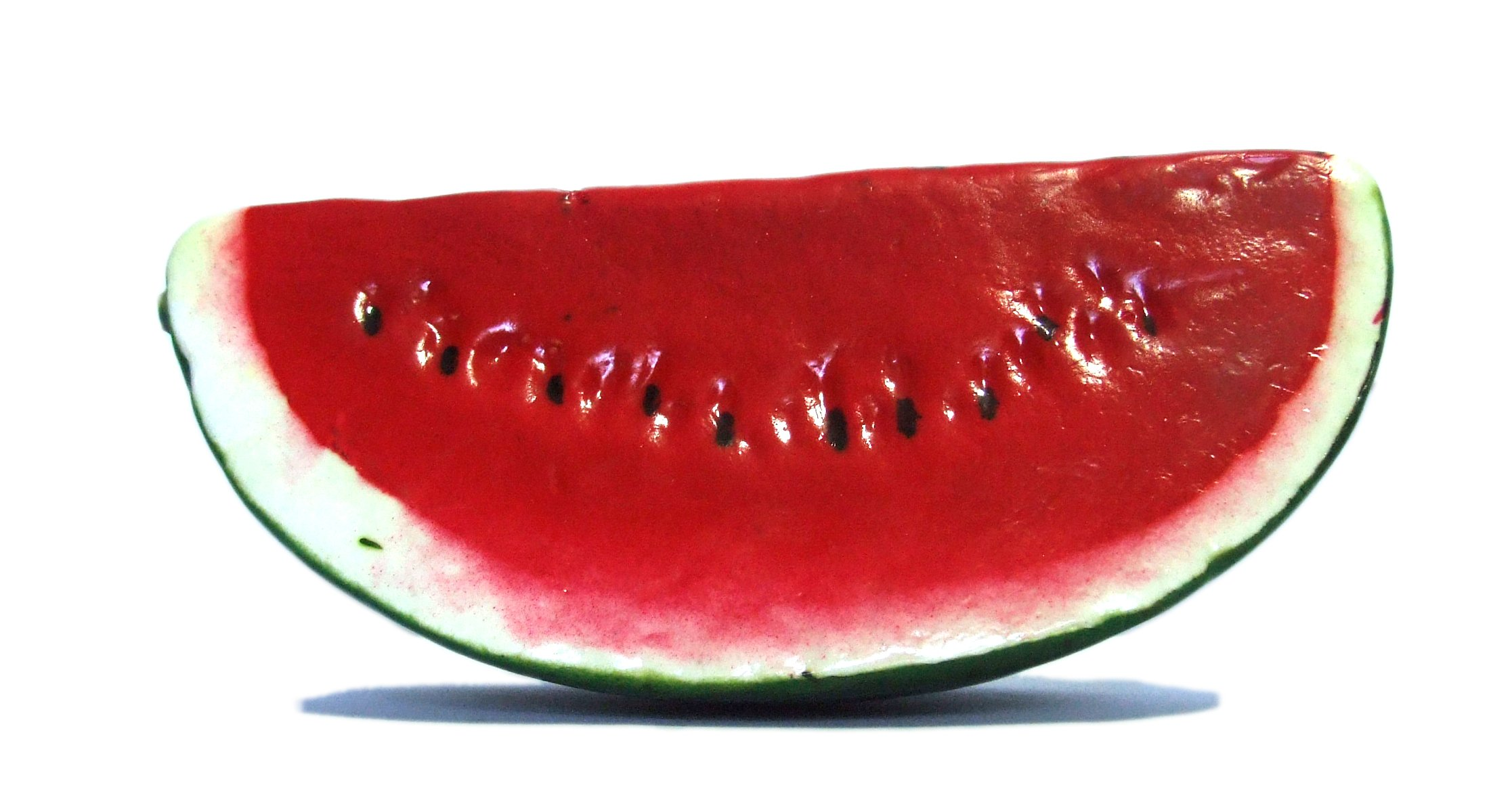 6pc-Artificial-Watermelon-Slice-Plastic-Green-Red-Watermelons-Slices-Fruit-Six-Pieces