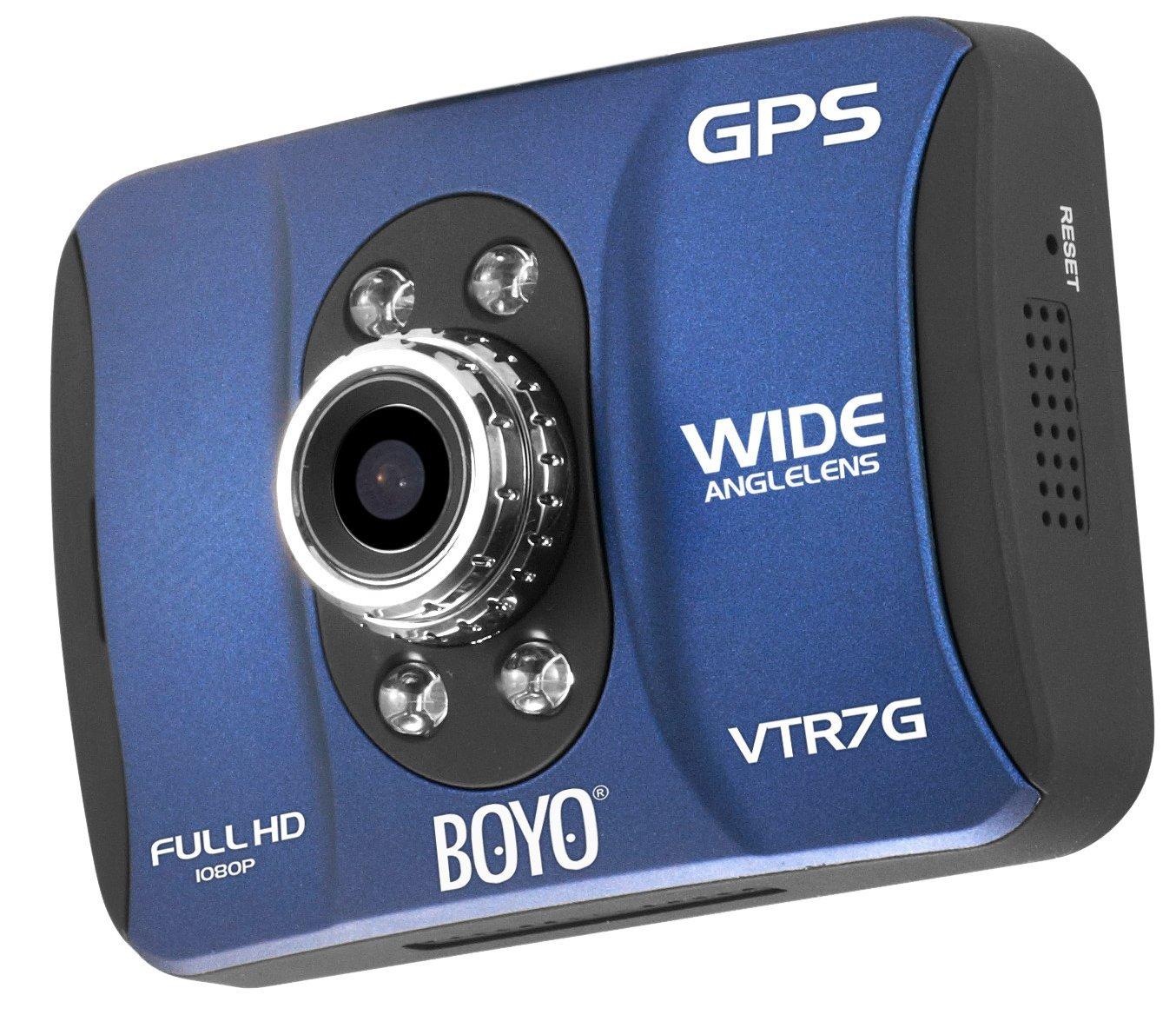 BOYO VTR7G Dash-Cam DVR with Full HD Recording