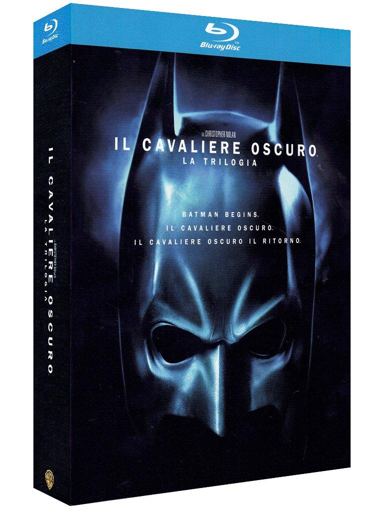 Prezzo sottocosto Trilogia Batman The Dark Knight in versione Blu Ray (Il Cavaliere Oscuro - La Trilogia