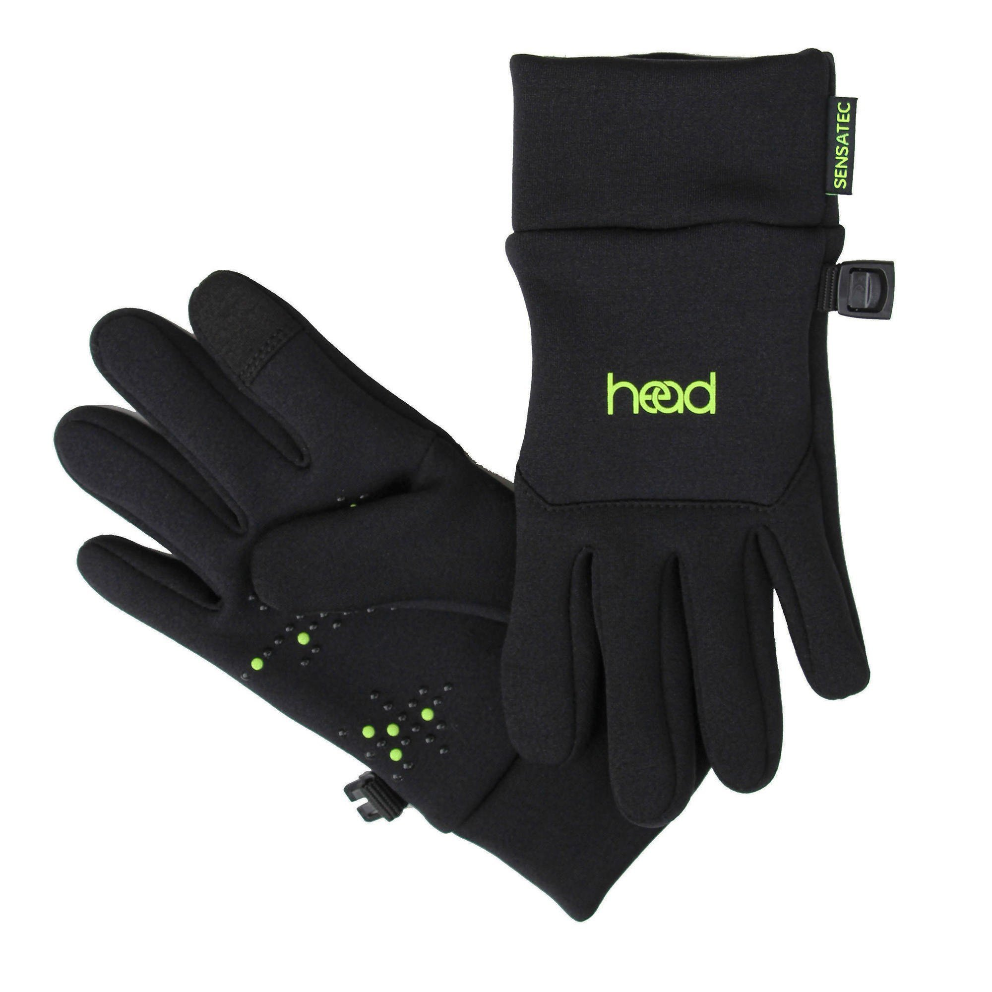HEAD Kids Touchscreen Gloves - Black (SMALL)