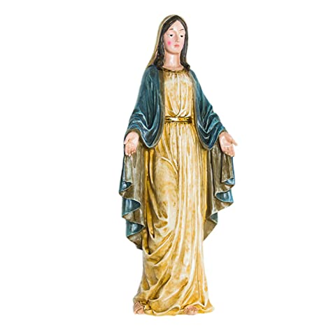 Bon Fun Express Virgin Mary Blessed Mother Garden Lawn Statue