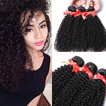 Amazon sunwell weave hair human bundles of brazilian hair sunwell weave hair human bundles of brazilian hair extensions human hair bundles kinky curly natural color pmusecretfo Images