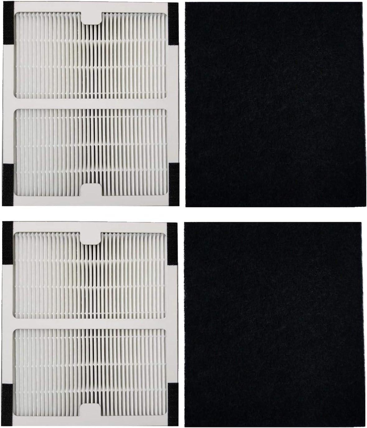 2 Replacements Idylis D IAP-10-280 HEPA Air Purifier Filters Part # IAF-H-100D