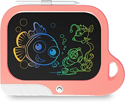 Brown LCD Writing Tablet Doodle Board 8.5inch Colorful Drawing Tablet Writing Pad,Girls Birthday Gift and Toys for 3 4 5 6 7 Year Old Girls Boys TEKFUN Girls Toys for 3-6 Years Old Girls Boys