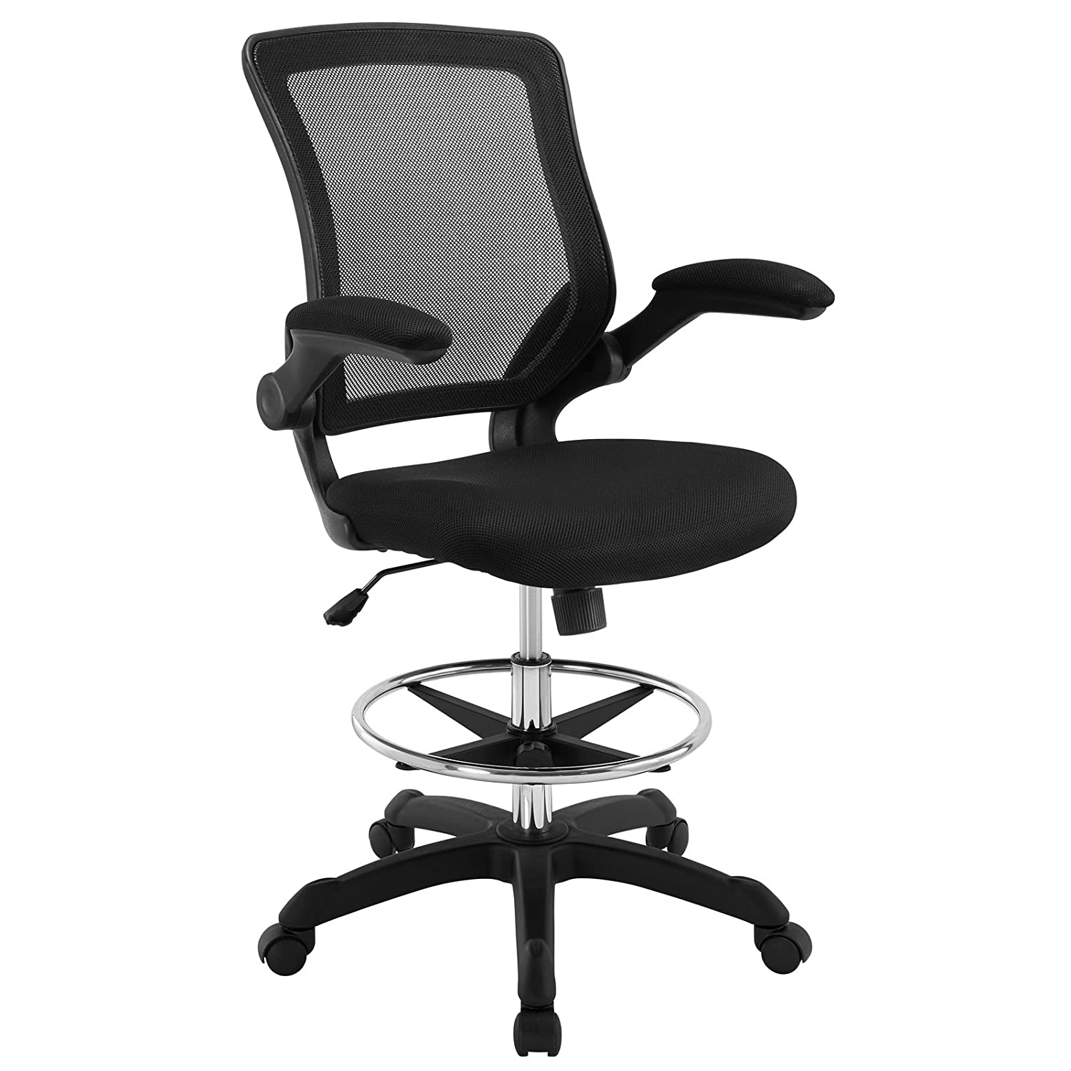 Surprising Modway Mo Eei 1423 Blk 22 5L X 25 5W X 41 5 50H Black Uwap Interior Chair Design Uwaporg