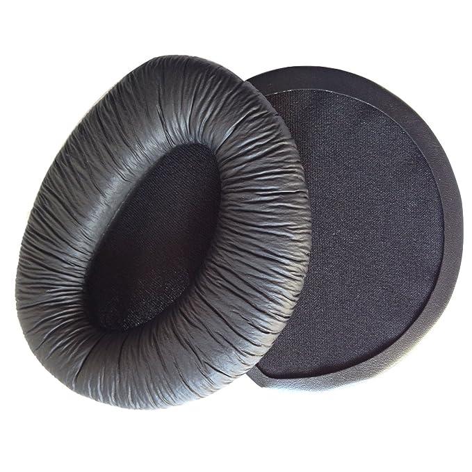 Un paio di ricambio soffice PU espanso imbottiture orecchio tamponi  auricolari per Sennheiser RS160 RS170 RS180 cuffie (nero)  Amazon.it   Elettronica a4ba150802e4