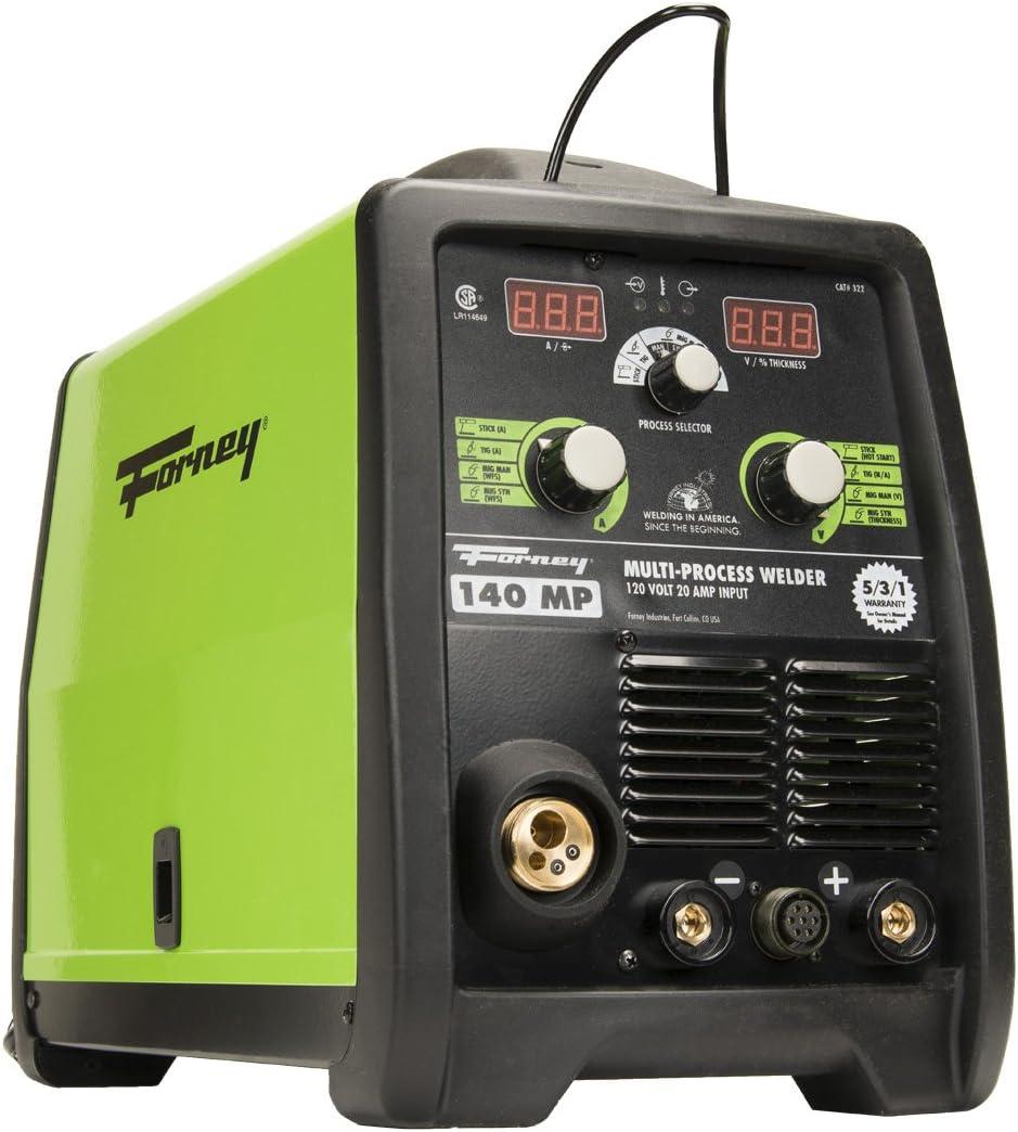 Green Forney 304 95FI-A Flux Core Welder 95-Amp 120-volt