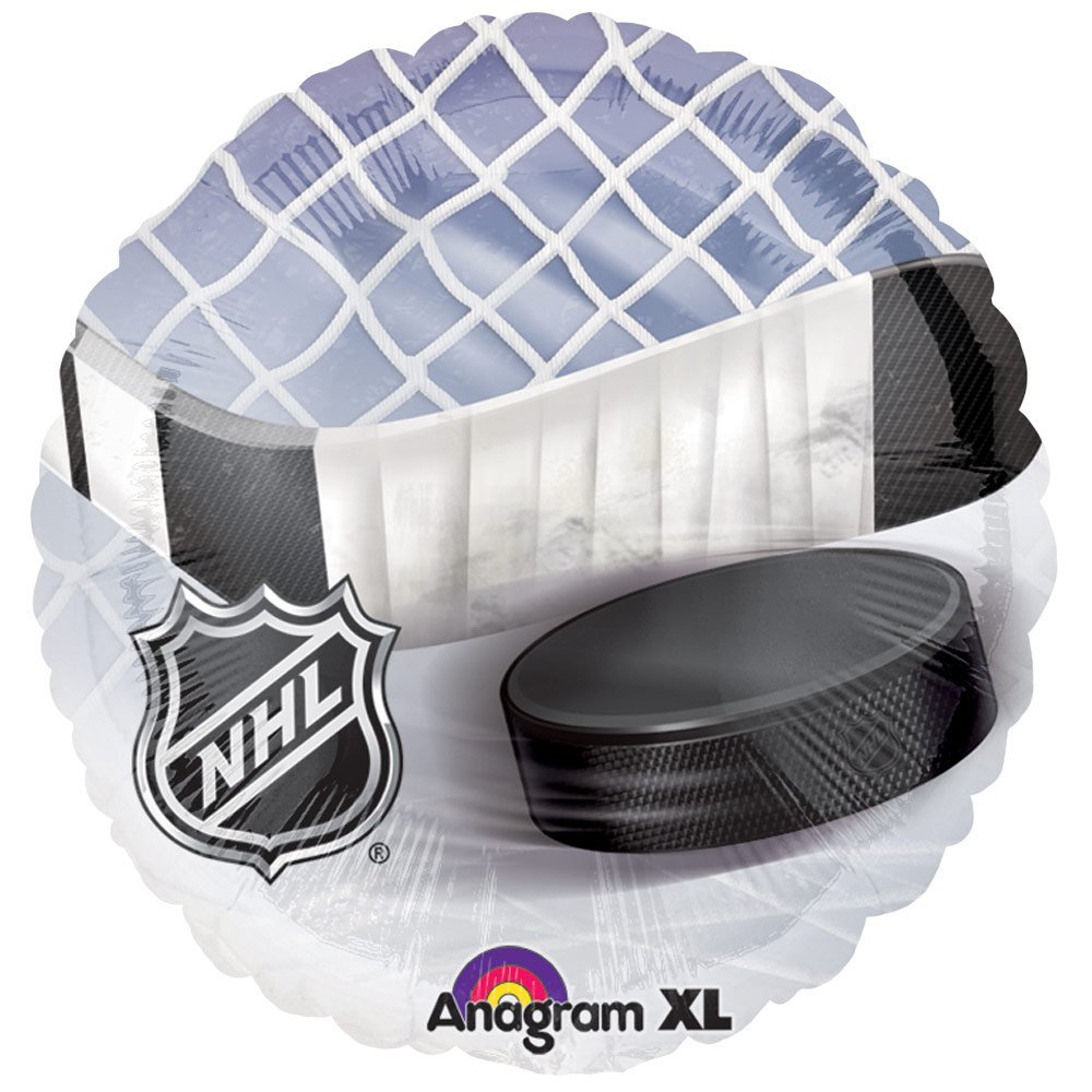 Combo Kit Confetti and Balloon Baby Shower or Birthday Party Decorations Shoots /& Scores! Hockey