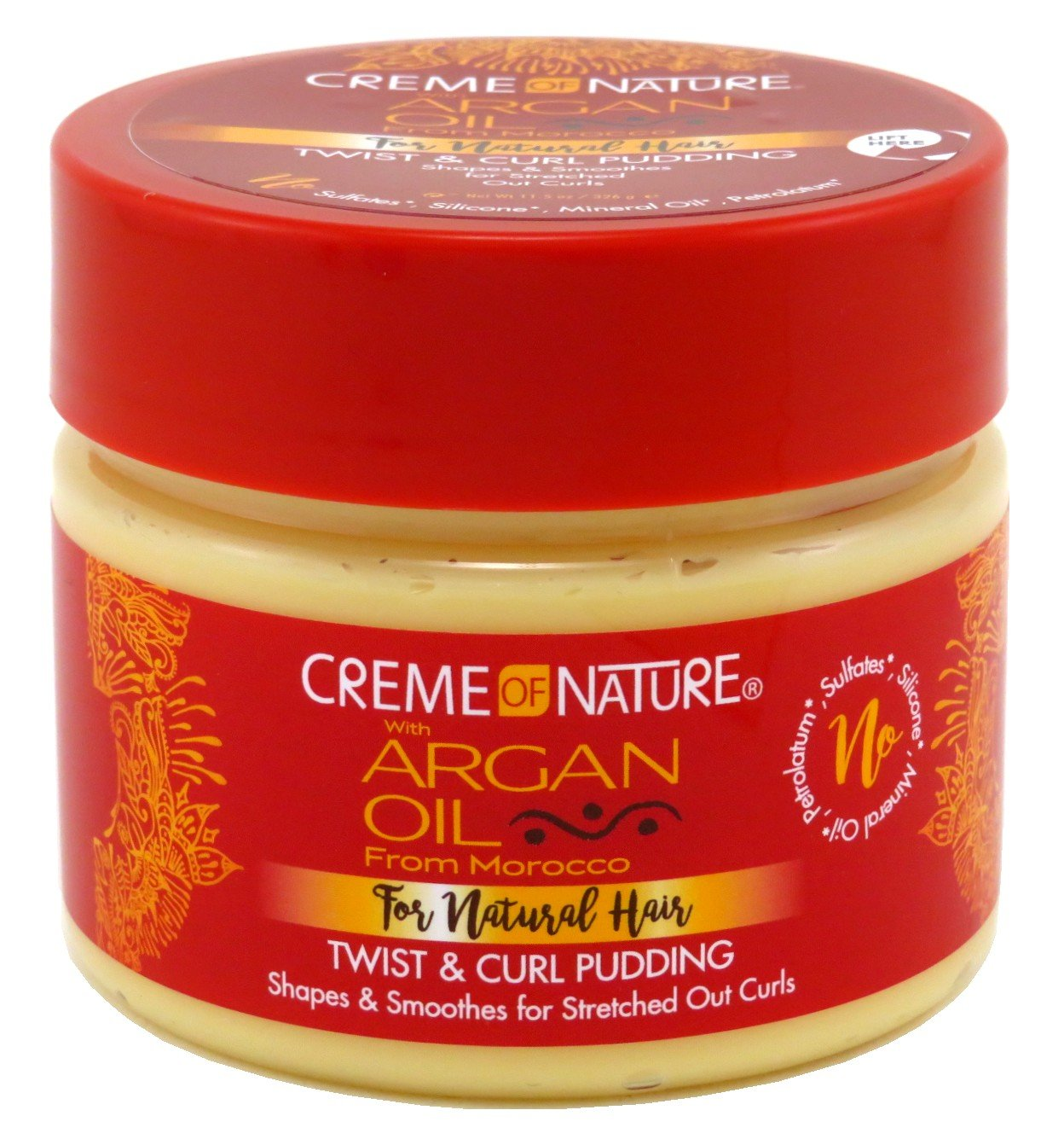 Creme Of Nature Argan Oil Twist & Curl Pudding 11.5 Ounce (340ml) (3 Pack)
