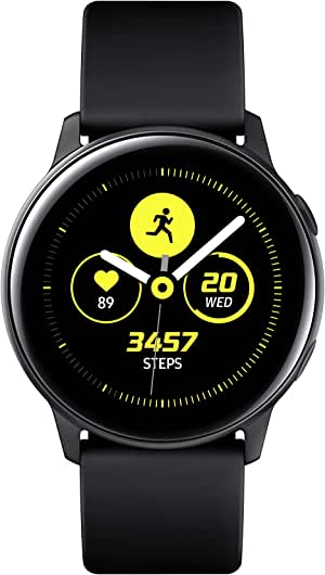 SAMSUNG SM-R500NZDAXSP Galaxy Watch Active, Black