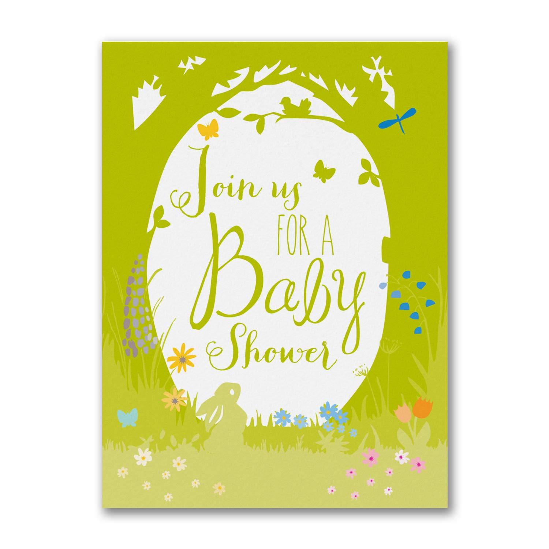 100pk Nature Child - Baby Shower Invitation-Baby Shower Invitations