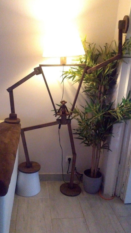 Gelenkig kreative verstellbare Stehleuchte menschlicher Form STEHLAMPE STEHLAMPE STEHLAMPE Landhaus Rustikal Retro df19a7