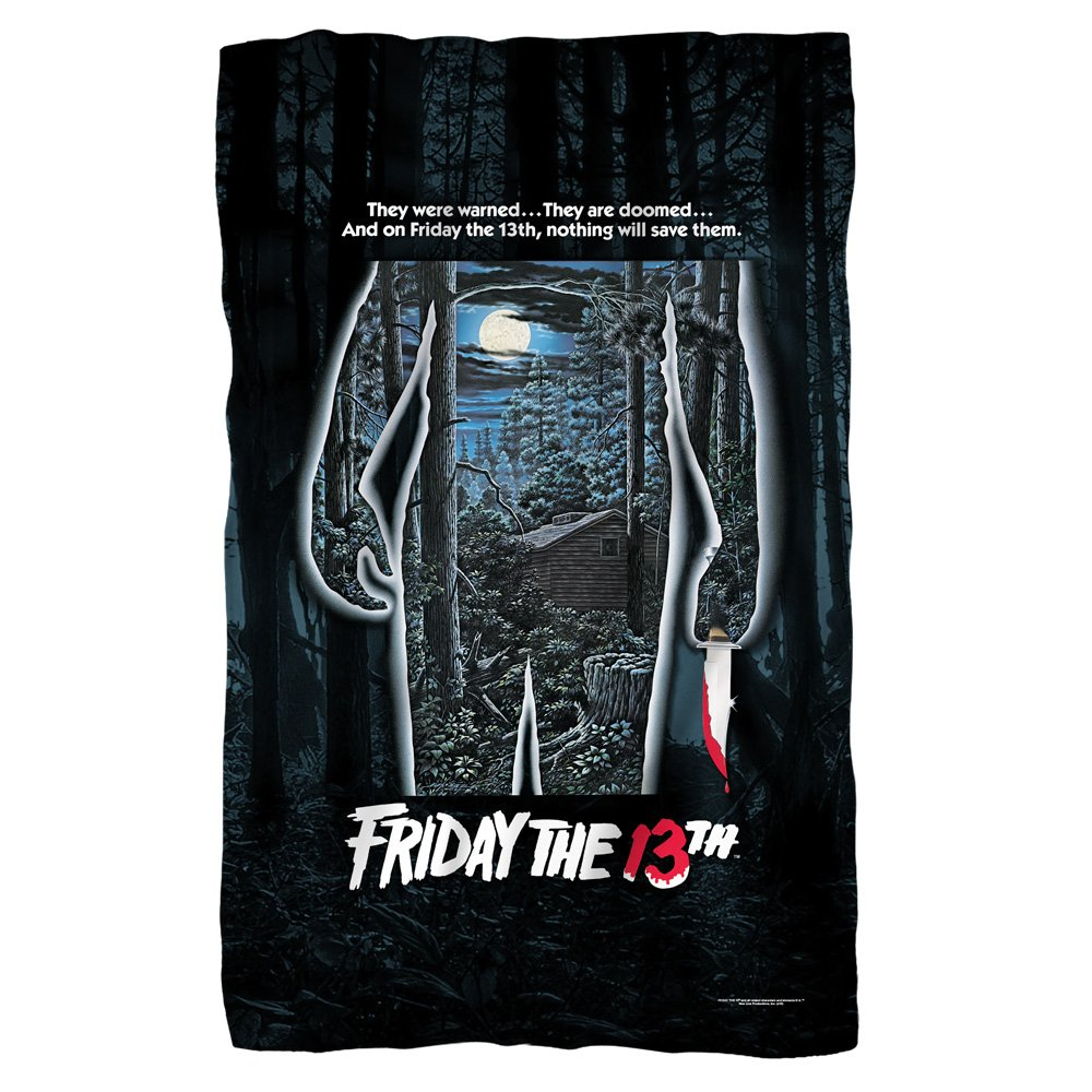 Poster -- Friday The 13th -- Fleece Throw Blanket (36''x58'')